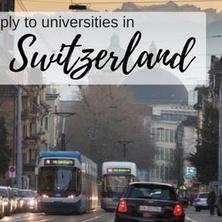 สมัครเรียนต่อมหาวิทยาลัยในสวิสเซอร์แลนด์อย่างไร