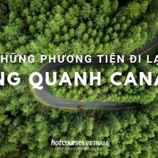 Những phương tiện đi lại vòng quanh Canada