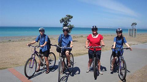Iona College Biking