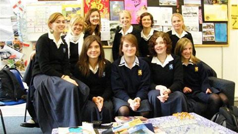Epsom Girls Grammar School Students