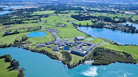 ACG Strathallan Aerial View